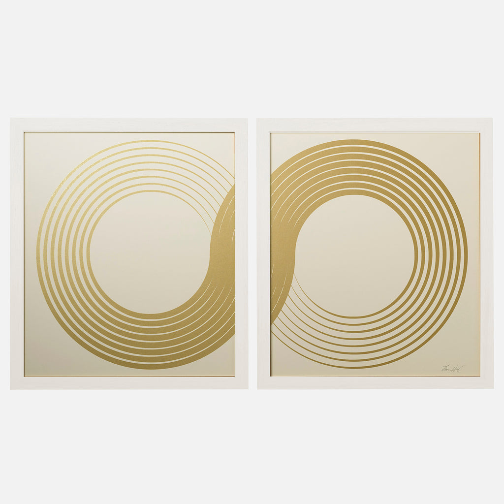 INFINITY-DIPTYCH-WHITE-GOLD-PRINT-FRAMED