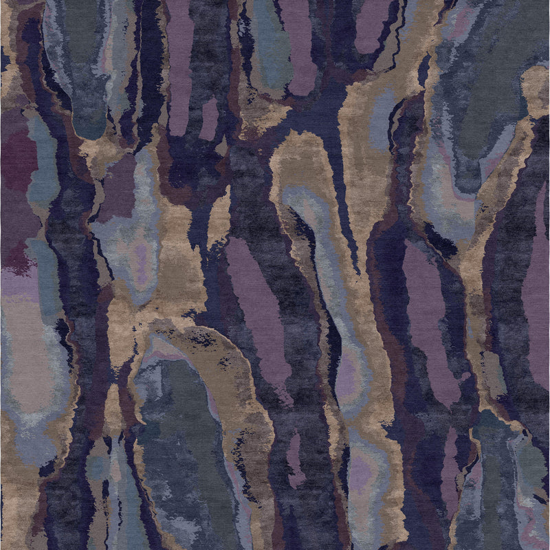 Grenada Teal Carpet - 6' x 9'