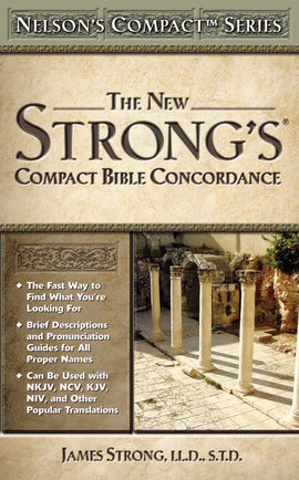 New Strong's Compact Bible Concordance S/S