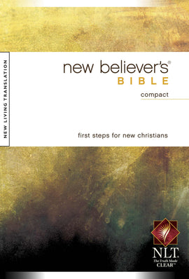 NLT2 New Believers Compact Bible-Softcover