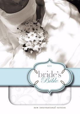 NIV Thinline Brides Bible/Compact-White Bonded Leather