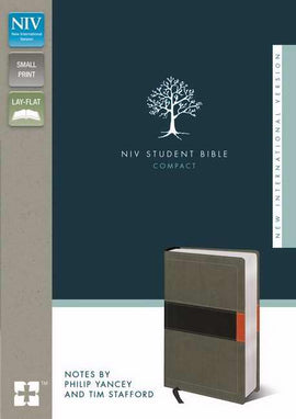 NIV Student Bible/Compact-Concrete/Fatigue Green Duo-Tone