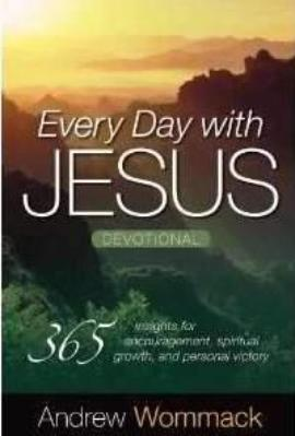 Every Day with Jesus Devotional: 365 Insights for Encouragement, Spiritual Growth, and Personal Victory