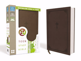 NIV Teen Study Bible/Compact-Chocolate Duo-Tone