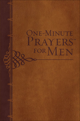 One-Minute Prayers For Men (Gift Edition)-Brown Milano Softone