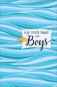 KJV Study Bible For Boys-Hardcover