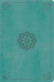ESV Value Compact Bible-Turquoise Emblem Design TruTone