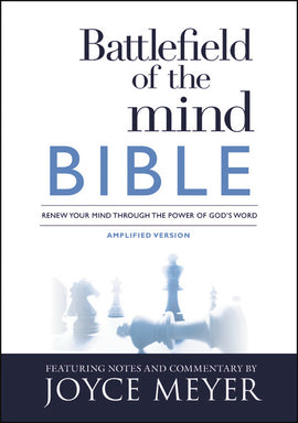 Amplified Battlefield Of The Mind Bible-Hardcover