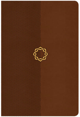 CSB Essential Teen Study Bible-Walnut LeatherTouch