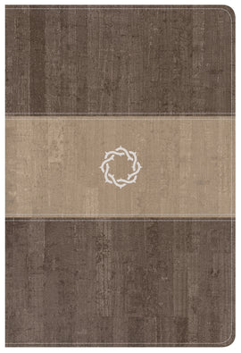 CSB Essential Teen Study Bible-Weathered Gray Cork LeatherTouch
