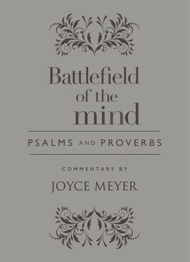 Battlefield Of The Mind Psalms And Proverbs-Light Grey Euroluxe