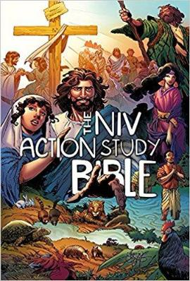 The NIV Action Bible Study Bible-Hardcover