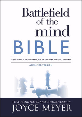 Amplified Battlefield Of The Mind Bible-Softcover