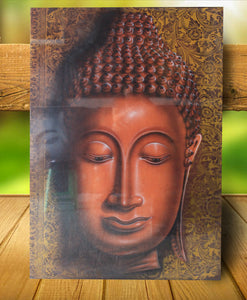 Buddha painting / Original buddha head painting 150 cm