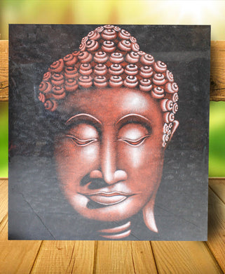 Buddha painting / Head budha painting  - 90 cm