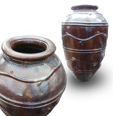 Big Gentong / Barrel water fountain clay size 125 cm