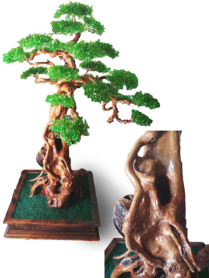 Home decoration bonsai three synthetic - 174 cm