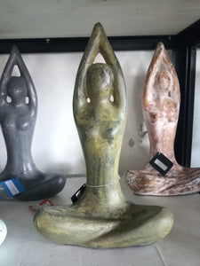 Abstract Yoga Simple Statue Home Decoration High 35 cm