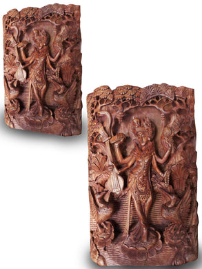 Wall decoration / wood carving - 50 cm