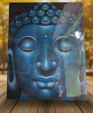 Buddha painting / Original buddha head painting - 100cm