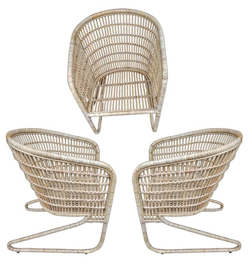 Chair / Rattan balcony chair size 85 cm