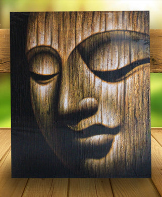 Buddha painting / original budha face - 120 cm