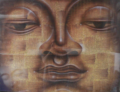 Budhha painting / original budha painting wall decor - 90 cm