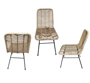 Chair /Restoran Rattan Funiture 90 cm