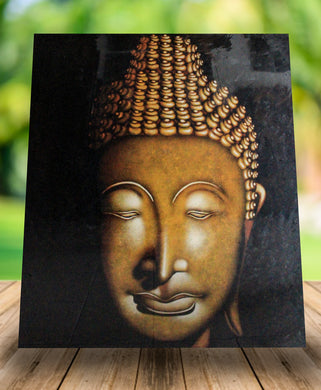 Buddha paiting / Original painting wall decor - 120 Cm