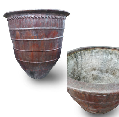 Clay Bowl Gentong 120 - Great for garden or Decoration