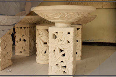 Standing bowl / Garden furniture