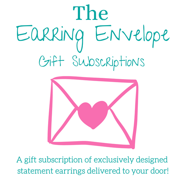 The Earring Envelope Monthly Subscription
