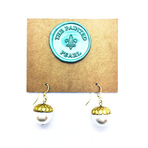 City of Oaks Acorn Earrings
