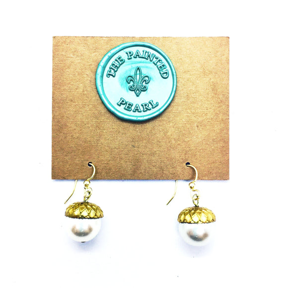 City of Oaks Acorn Earrings *Best Seller*