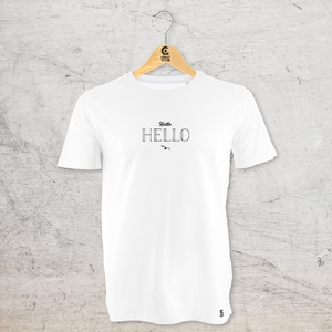 "T-Shirt blanc ""Made in Marseille"""