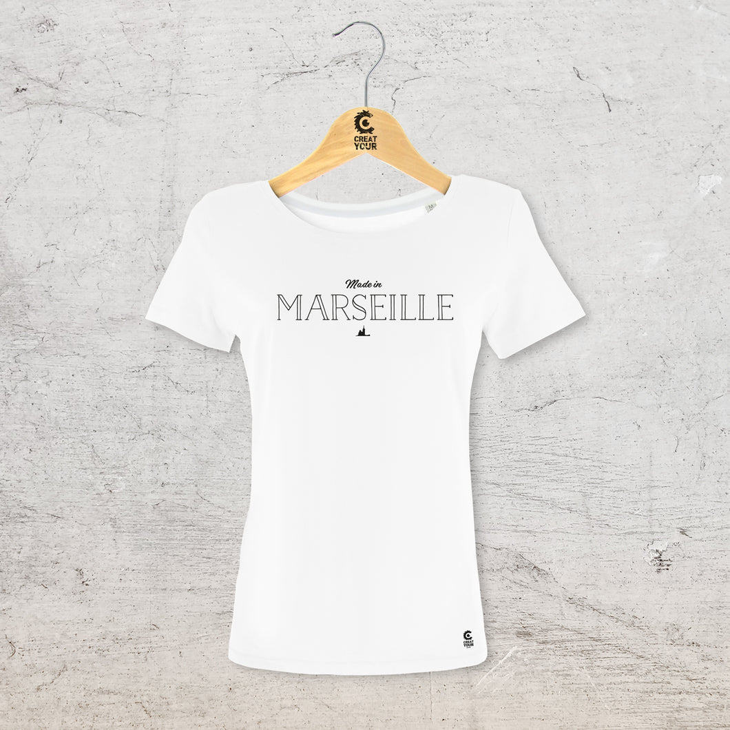T-shit made in Marseille personnalisable