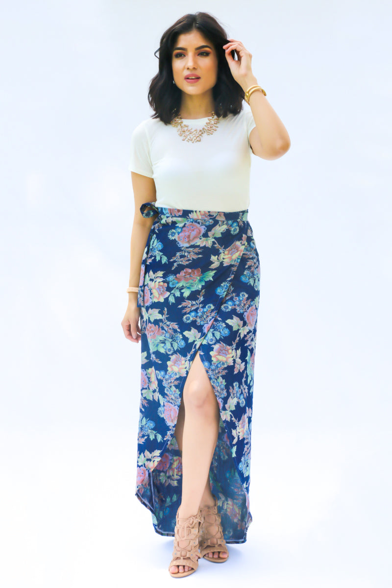 MARIE WRAP SKIRT PDF PATTERN
