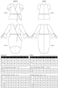 FELICITY - TOP/DRESS PDF PATTERN