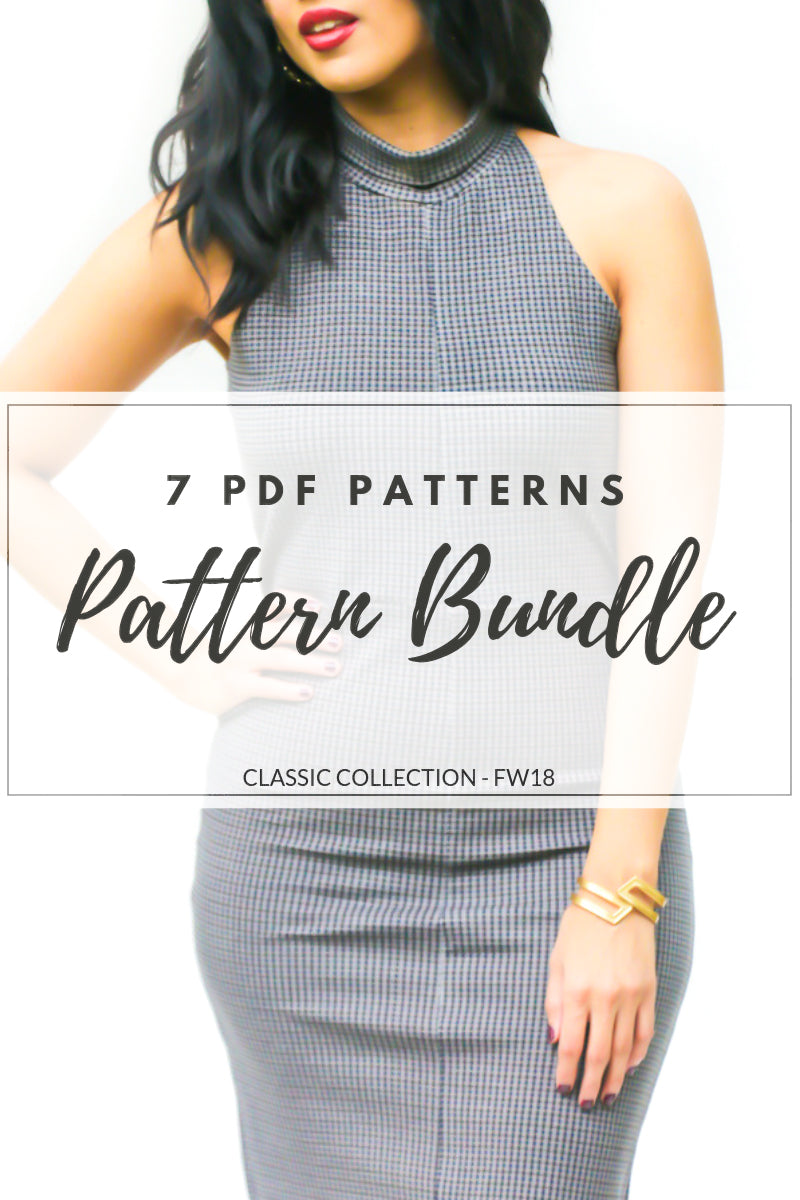 THE CLASSIC COLLECTION - PDF PATTERN PACKAGE