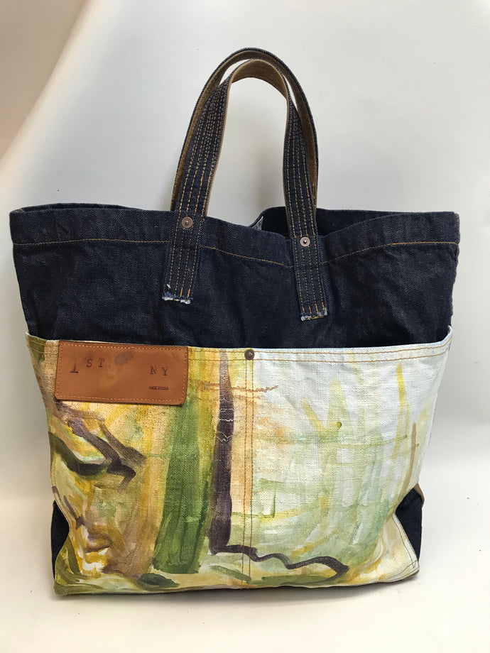 Carryall Art Canvas Bag N.3