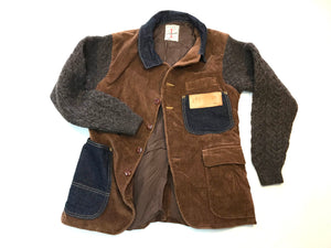 Corduroy and Wool Jacket / ReWork