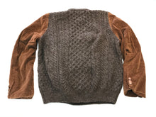 Corduroy and Wool Sweater / ReWork