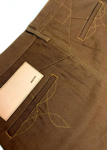 FS-800 / Shrink to Fit Canvas Pants