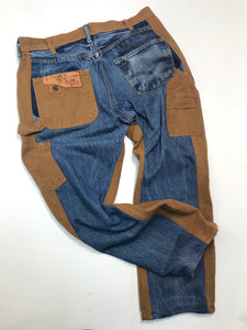 Two Tone Jeans N. 123 / size 35