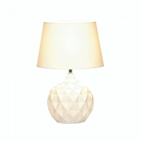 Geometric Round Table Lamp