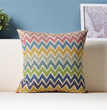 Geometric Cushion For Sofa Car Decorative Pillows Colorful Cushions Home Decor/capa Para Almofada/cojines Decorativos