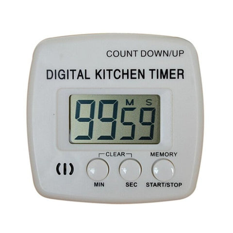 2017 New Large LCD Digital Kitchen Cooking Timer Count-Down Up Clock Loud Alarm ##