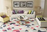 Fasion Carpets for living room Rectangle Geometric Area Rug Safety Kids Carpet Modern Home Decoration tapetes para casa sala