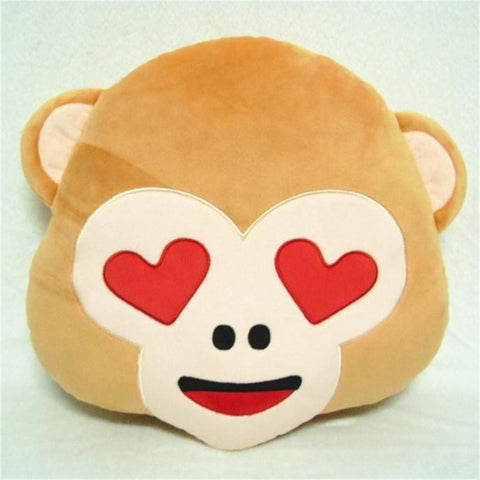Monkey Throw Home Decorative Pillow Cushion Decor Ultra Soft