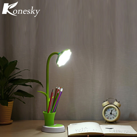 Konesky USB Stepless Dimming Desk Lamp
